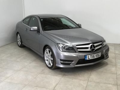 MERCEDES-BENZ C CLASS Coupe 2.1 C220 CDI AMG Sport Edition 2dr