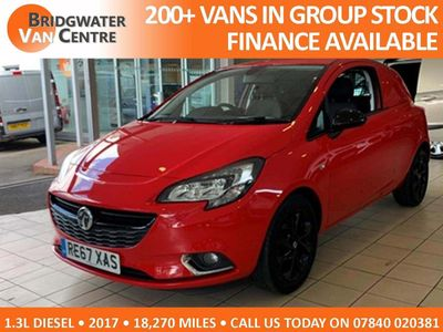 VAUXHALL CORSA VAN Panel Van 1.3 Limited Edition Nav 3dr