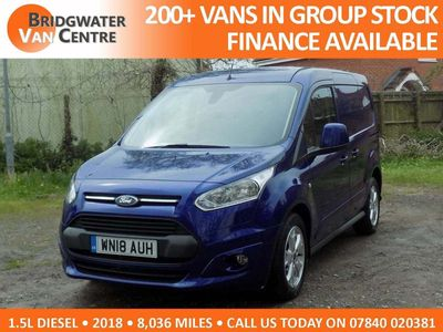 FORD TRANSIT CONNECT Other 1.5 TDCi L1 200 Limited Panel Van 5dr (EU6)