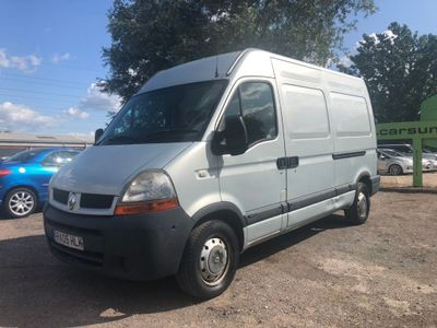 RENAULT MASTER Panel Van 2.5 dCi MM33 Medium Roof Van (FWD) 4dr (MWB)