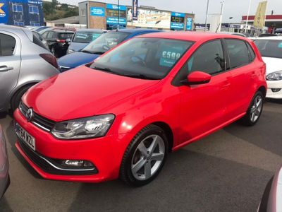 VOLKSWAGEN POLO Hatchback 1.4 TDI BlueMotion Tech SEL (s/s) 5dr