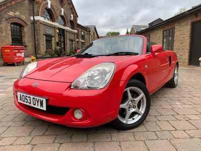 TOYOTA MR2 Convertible 1.8 VVT-i Roadster Red 2dr