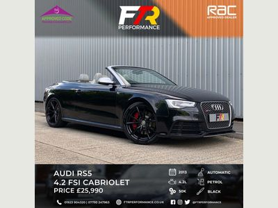 AUDI RS5 Convertible 4.2 FSI Cabriolet S Tronic quattro 2dr