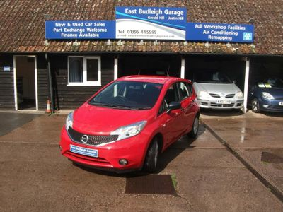 NISSAN NOTE Hatchback 1.2 Visia Limited Edition 5dr