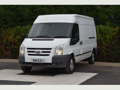 FORD TRANSIT Panel Van 2.4 TDCi 350 L Limited Medium Roof Panel Van RWD 3dr
