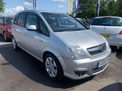 VAUXHALL MERIVA MPV 1.6 i 16v Breeze Plus 5dr