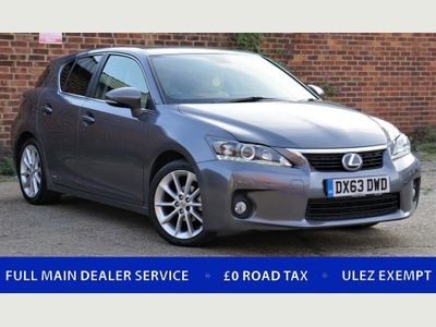 LEXUS CT 200H Hatchback 1.8 Luxury CVT 5dr