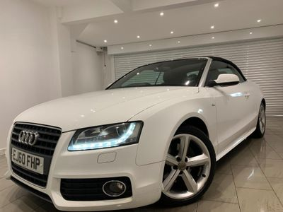AUDI A5 CABRIOLET Convertible 2.7 TDI S line Cabriolet Multitronic 2dr