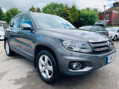 VOLKSWAGEN TIGUAN SUV 2.0 TDI BlueMotion Tech Escape DSG (s/s) 5dr