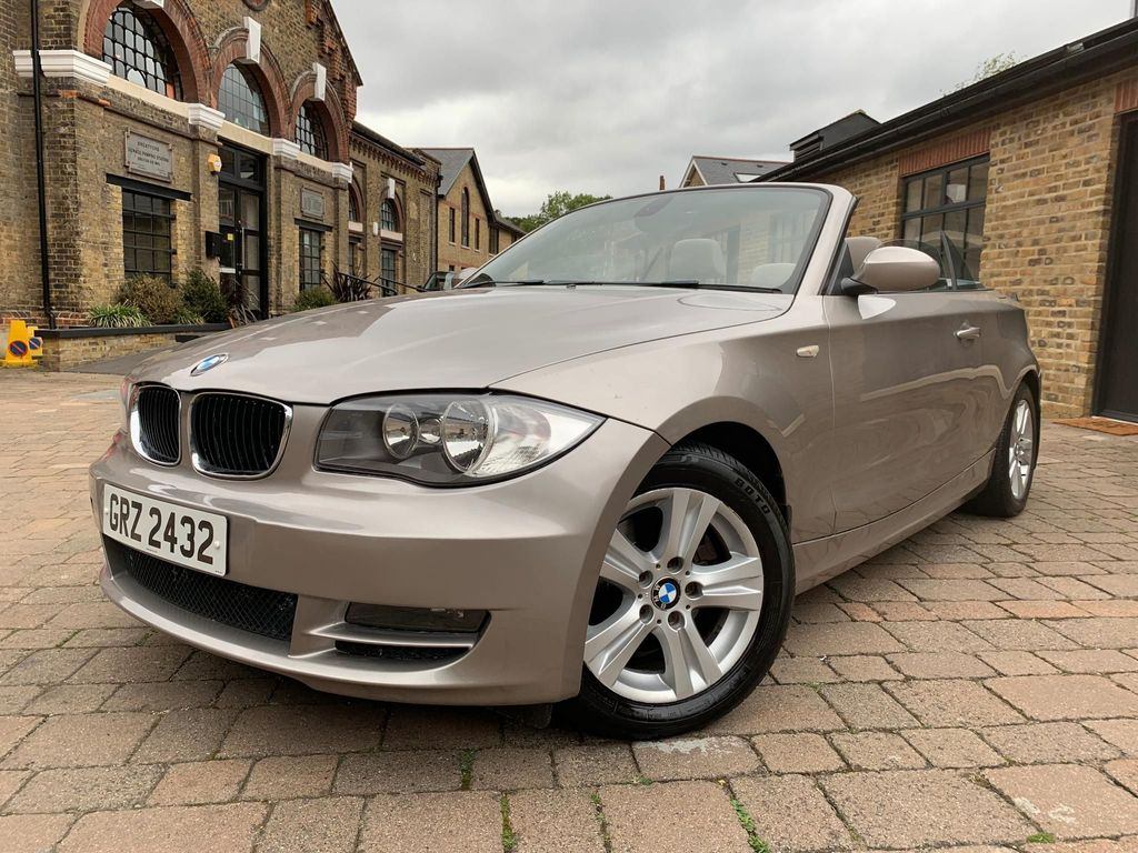 BMW 1 SERIES Convertible 2.0 118d SE 2dr
