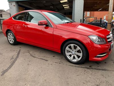 MERCEDES-BENZ C CLASS Coupe 2.1 C220 CDI SE (Executive) 2dr
