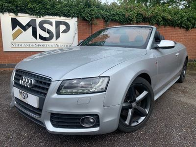 AUDI A5 CABRIOLET Convertible 2.0 TFSI S line Cabriolet 2dr Petrol Manual (159 g/km, 208 bhp)