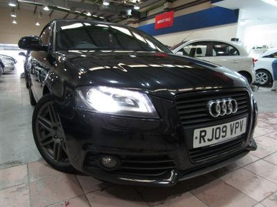 AUDI A3 CABRIOLET Convertible 2.0 TDI Black Edition S Tronic 2dr