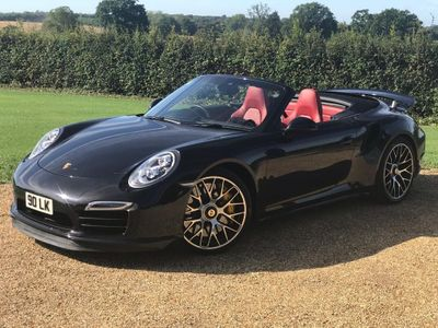 PORSCHE 911 Convertible 3.8T 991 Turbo S PDK 4WD 2dr