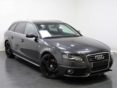 AUDI A4 AVANT Estate 2.0 TDI S line Executive quattro 5dr