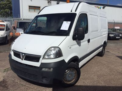 VAUXHALL MOVANO Box Van 2.5CDTI HIGH ROOF VAN 4 DOOR 3.5T