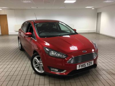 Ford Focus 1.5 TDCi 120 Titanium 5 door full service history