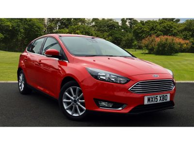 Ford Focus 1.6 Tdci 115 Titanium 5Dr Diesel Hatchback EXCELLENT MPG