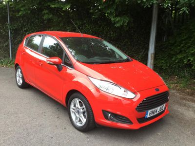 Ford Fiesta 1.0 EcoBoost Zetec 5dr AIR CON - HEATED FRONT SCREEN