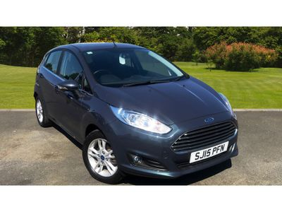 Ford Fiesta 1.25 82 Zetec 5Dr Petrol Hatchback best selling car