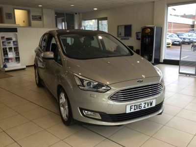 Ford C-Max 1.5 TDCi Titanium X 5 door 1 Previous Owner