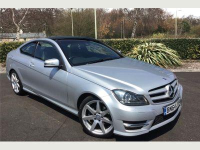 Mercedes-Benz C Class Diesel Coupe C220 CDI AMG Sport Edition 2dr Auto [Premium Plus] 2.2 PREMIUM PLUS PACKAGE