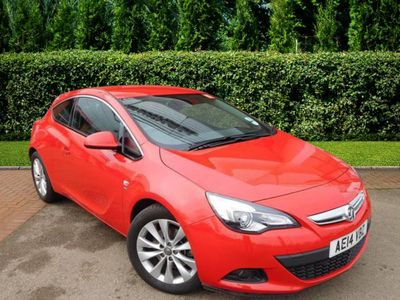 Vauxhall Astra GTC SRI S/S 1.4 3dr Only 11191 miles from New!