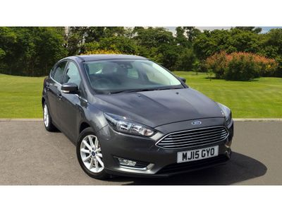 Ford Focus 1.6 125 Titanium 5Dr Powershift Petrol Hatchback TOP SPEC