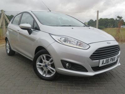 Ford Fiesta 1.25 82 Zetec 5dr SUPPLIED NEW BY US+1 OWNER