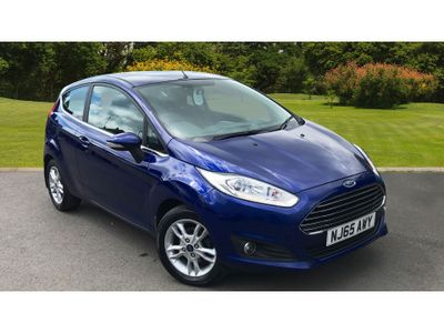 Ford Fiesta 1.25 82 Zetec 3Dr Petrol Hatchback BEST SELLING CAR