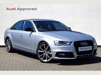 Audi A4 2.0 TDI 150 Black Edition Plus 4dr *Sat Nav-Cruise Control*