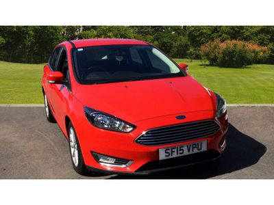 Ford Focus 1.6 Tdci 115 Titanium 5Dr Diesel Hatchback CHEAP AS CHIPS