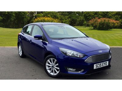 Ford Focus 1.5 Tdci 120 Titanium 5Dr Diesel Hatchback FAMILY HATCH