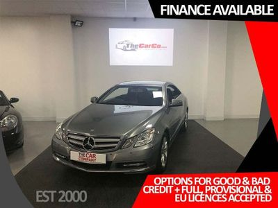 MERCEDES-BENZ E CLASS Coupe 2.1 E220 CDI BlueEFFICIENCY SE 2dr