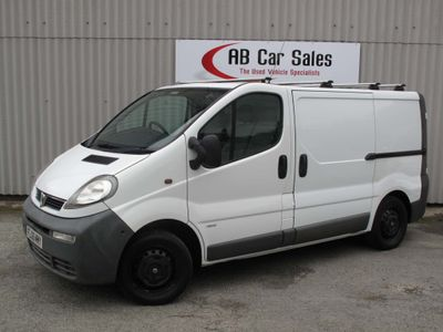 VAUXHALL VIVARO Other 1.9 CDTi 2900 Panel Van 4dr (SWB)