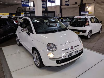 FIAT 500C Convertible 1.4 16v Lounge (s/s) 2dr