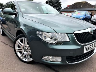 SKODA SUPERB Hatchback 2.0 TDI CR DPF Elegance (L&K Luxury Pack) DSG 5dr