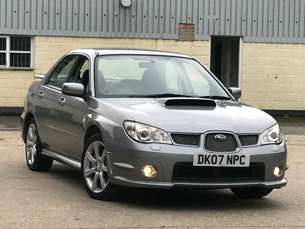 SUBARU IMPREZA Saloon 2.5 WRX Type UK 4dr