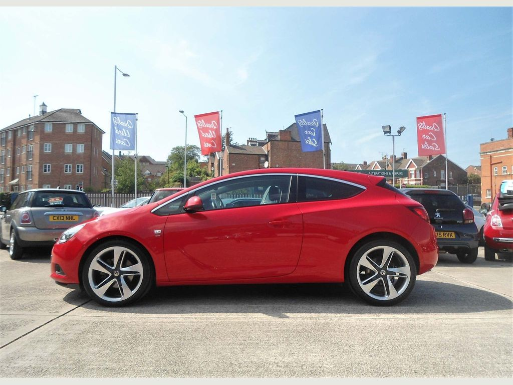 Used Vauxhall Astra Gtc Coupe 2.0 Cdti Sri (S/s) 3dr 20in ...
