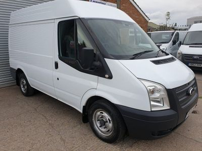FORD TRANSIT Panel Van 2.2 TDCi 280 S Medium Roof Van 3dr (EU5, SWB)