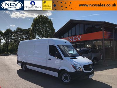 MERCEDES-BENZ SPRINTER Panel Van 3.0 CDI BlueTEC 319 High Roof Panel Van 4dr (LWB)