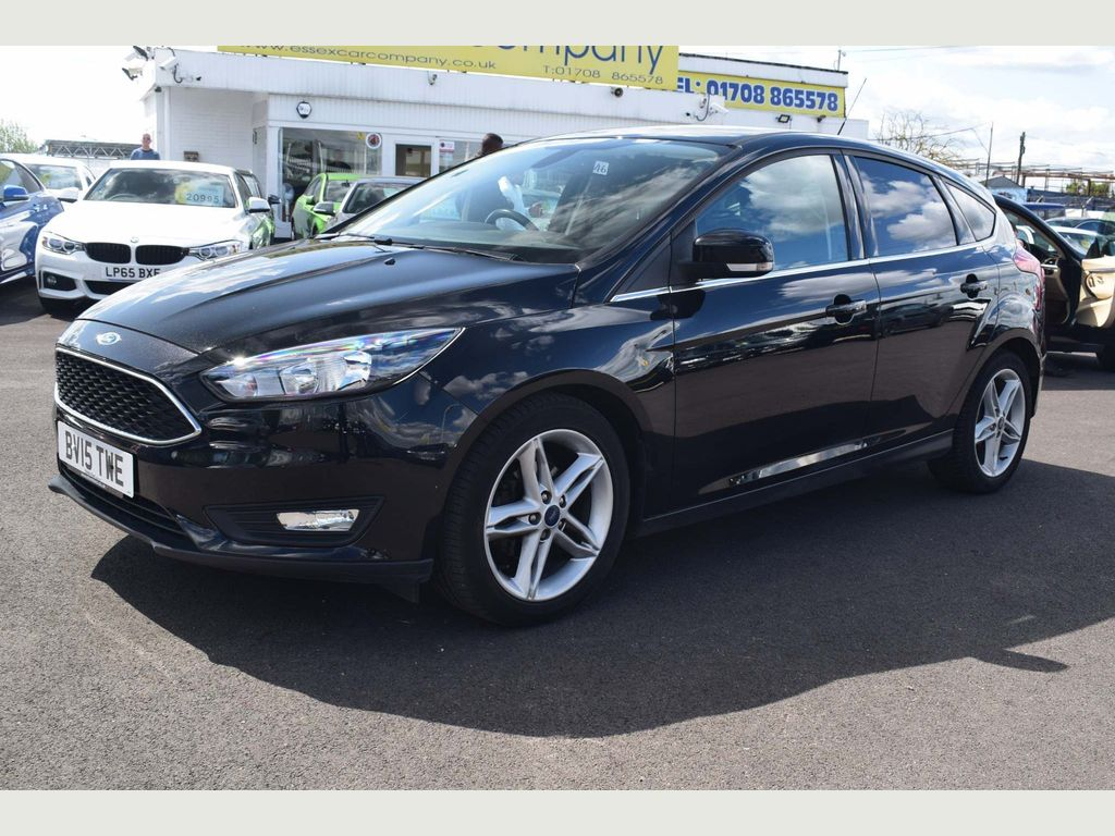 Used Ford Focus Hatchback 1 6 Tdci Zetec (S/s) 5dr in
