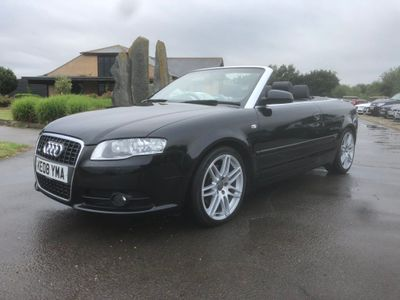 AUDI A4 CABRIOLET Convertible 2.0 TFSI Final Edition Cabriolet Multitronic 2dr