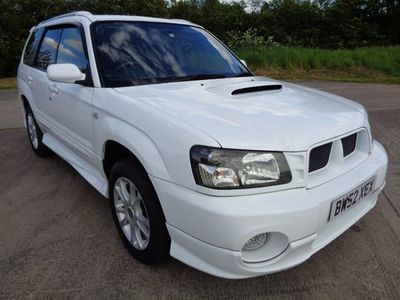 SUBARU FORESTER Estate Forester XT Turbo Auto Low Miles 38k, 4WD GD4 Fresh Rust Free Import SG5 GD