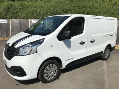 RENAULT TRAFIC Other 1.6 dCi Energy SL27 Business+ Low Roof Van 5dr