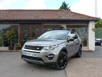 LAND ROVER DISCOVERY SPORT SUV 2.0 SD4 HSE Black 4X4 (s/s) 5dr