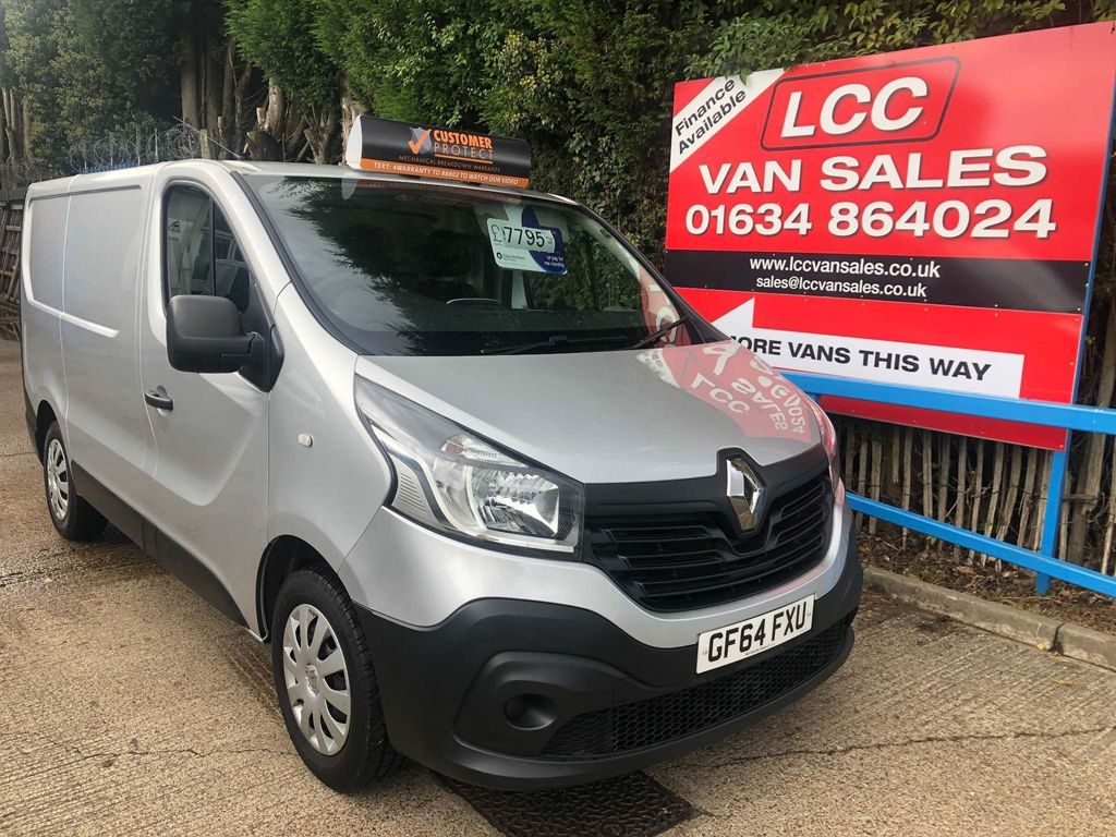 RENAULT TRAFIC Panel Van 1.6 dCi SL27 Business Low Roof Van 5dr