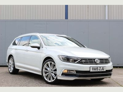 VOLKSWAGEN PASSAT Estate 2.0 TDI BlueMotion Tech R-Line DSG (s/s) 5dr