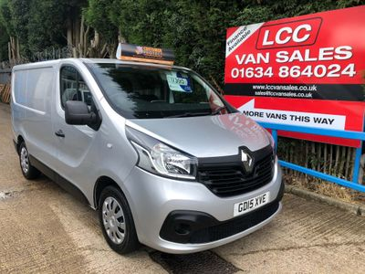 RENAULT TRAFIC Other 1.6 dCi SL27 Business+ Low Roof Van 5dr