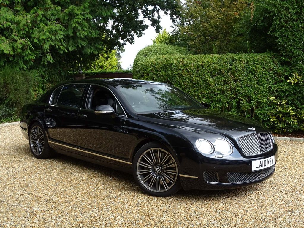 BENTLEY FLYING SPUR Saloon 6.0 W12 S Auto 4WD 4dr